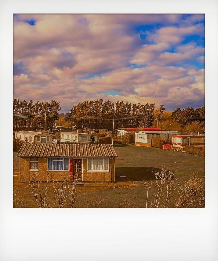 polaroid, caravan park, uk, mark dyball, pengeindustries