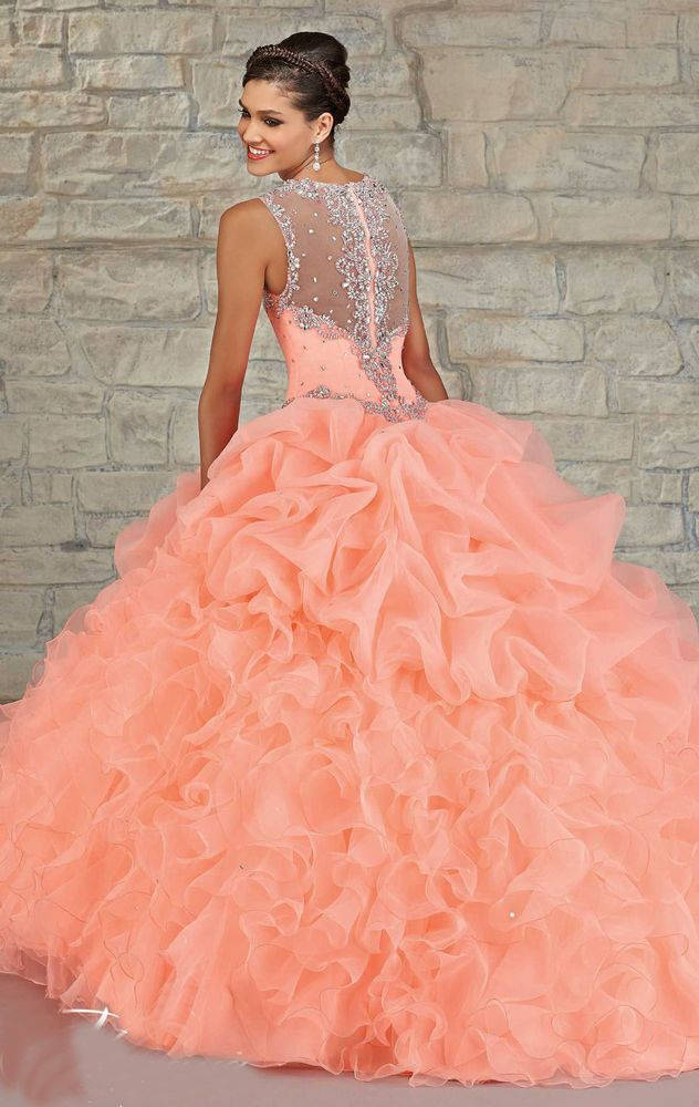 New Quinceanera Dress Formal Prom Party Pageant Ball Dresses Bridal Wedding Gown #Unbranded #BallGown #Formal