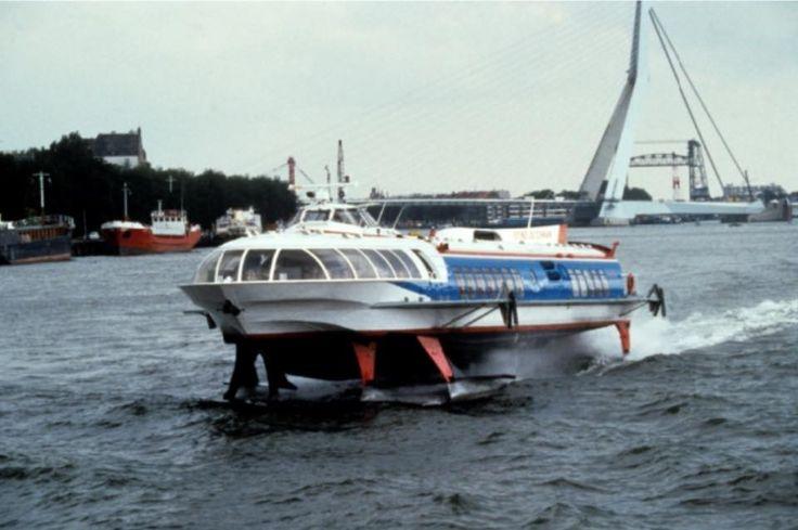 De draagvleugel boot flying dutchman 1996