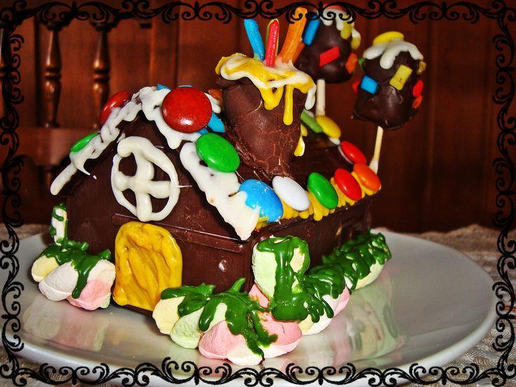 Casita de chocolate y caramelos ;) $5.000
