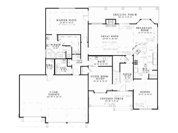 121 best home ideas floor plans images on pinterest for Columbia flooring melbourne ar