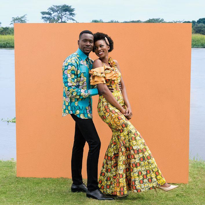 A Flamboyant Wedding In The DRC
