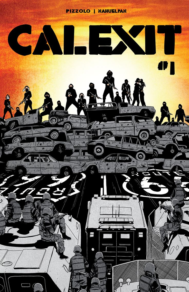 California will secede from the Union in Black Mask Studios' CALEXIT, hitting comic shops this May.