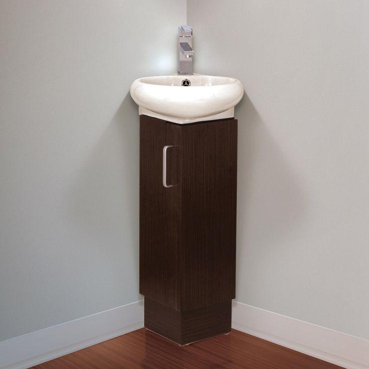 1000 ideas about corner bathroom vanity on pinterest - Sinks and vanities for small bathrooms ...