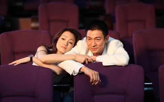 Gong Li & Andy Lau. What Women Want (Chinese version). I loved this one more than the Mel Gibson one, or maybe I just love Gong Li?