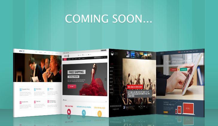 Working on 4 brand new WordPress Themes