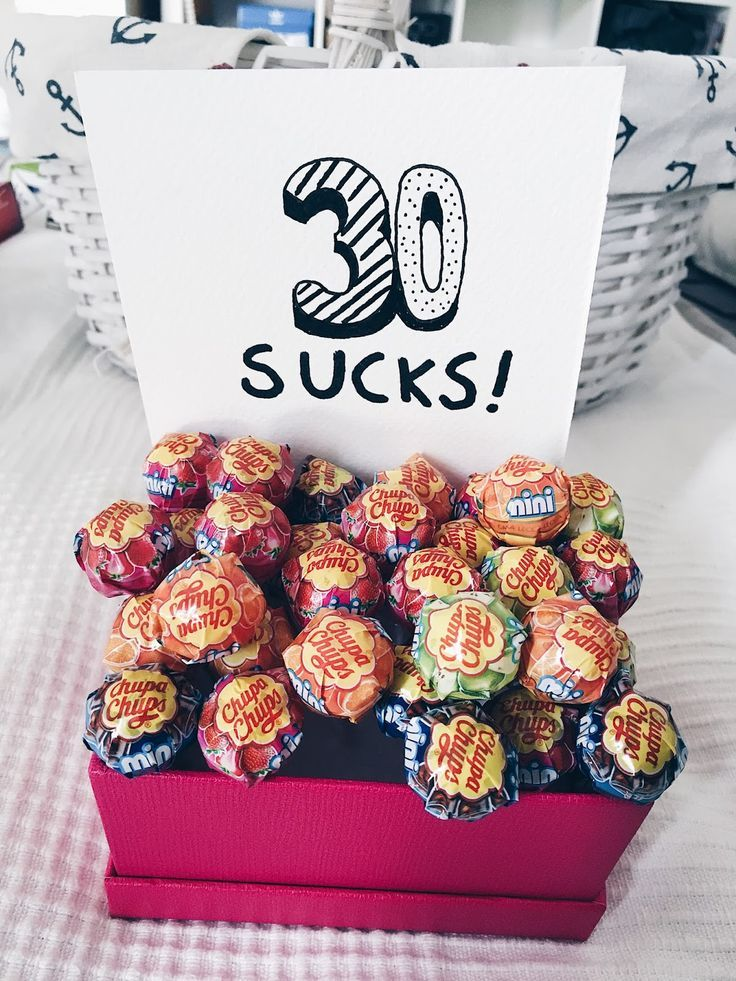 Hallo meine Lieben! Heute habe ich eine tolle Geschenkidee für einen 30. Geburt