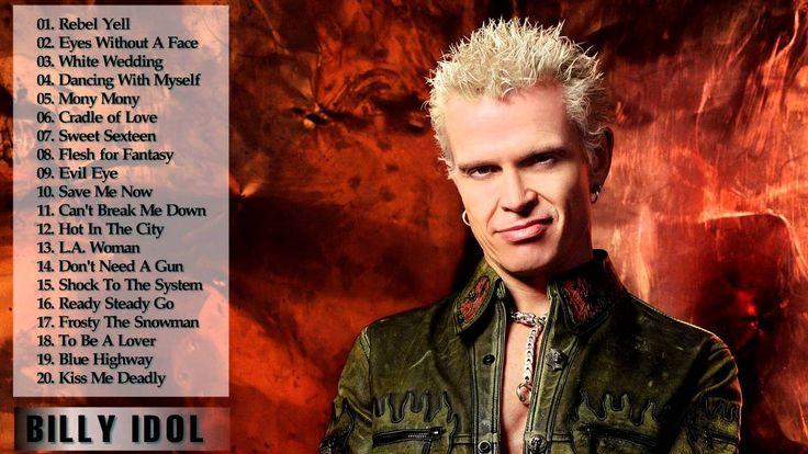 Best Songs Of Billy Idol [Full Album HD || Billy Idol's Greatest Hits 2015
