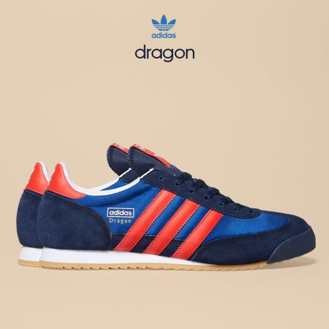 adidas dragon navy red