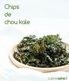 Le chou Kale on commence à le trouver un peu partout, il s'est démocratisé et s'invite dans nos cuisines. Pour changer de la salade de chou Kale place aux chips