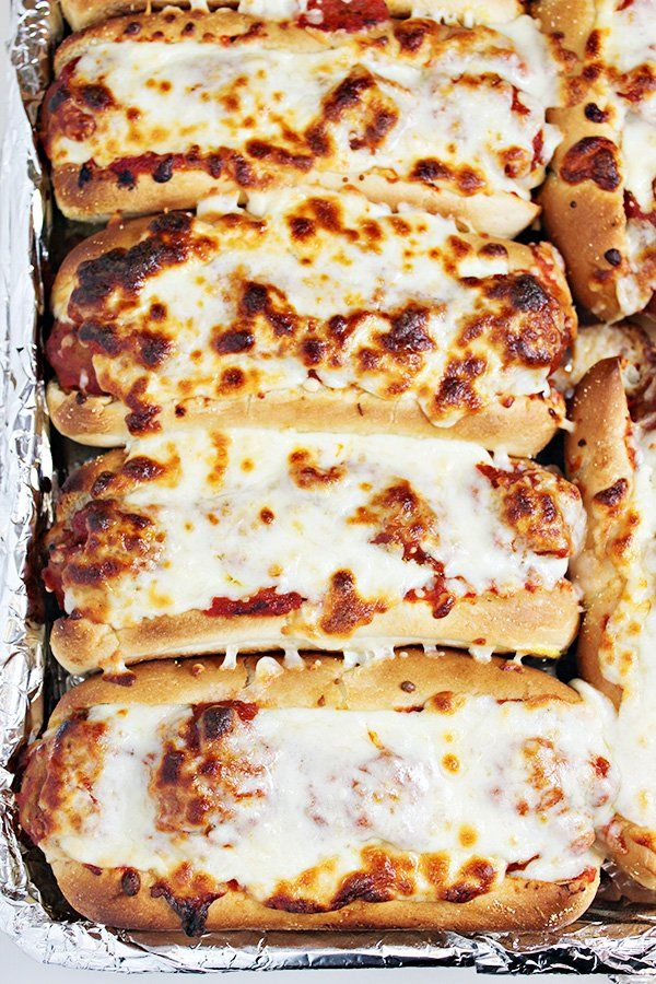 Oven Baked Meatball Sandwiches – A Great Feast