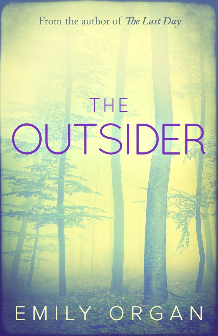 Cover for The Outsider, due to be published March 26th 2015.