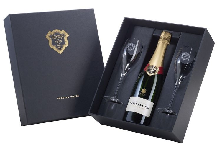 Bollinger Special Cuvée Champagne Geschenk set Bestellen - Champagnes.nl