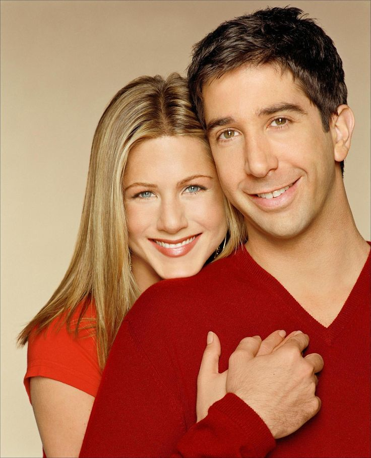 Jennifer Aniston & David Schwimmer - Rachel Green & Ross Geller / Friends