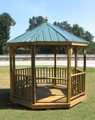 how to put a roof on a gazebo sims 4