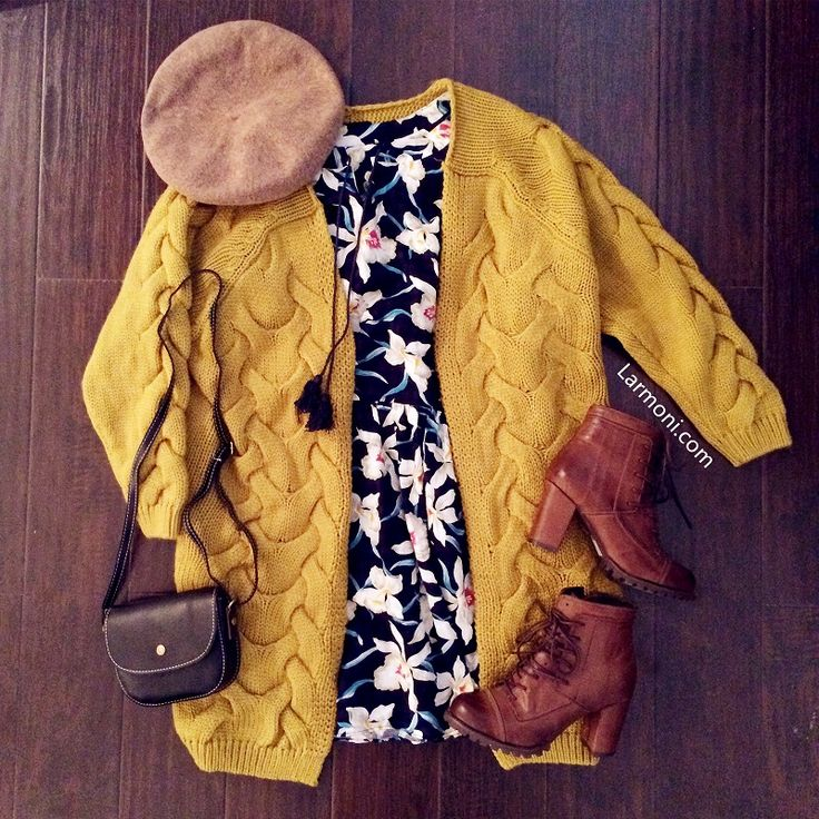 Oversized Chunky Cable Cardigan : The Art of Vintage-inspired & Cute Women's Clothing | Larmoni