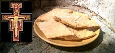 Przepis na ciasteczka jakie jadł św Franciszek z Asyżu w 1226 r.