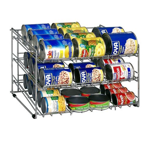 Found it at Wayfair - Can Goods Rack