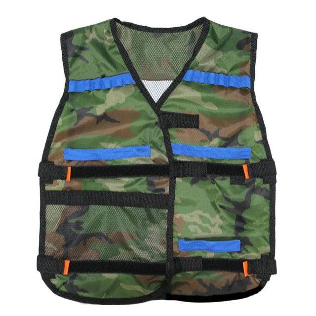 54*47cm New colete tatico Outdoor Tactical Adjustable Vest Kit For Nerf N-strike Elite Games Hunting vest Top Quality