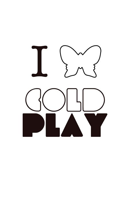 coldplay butterfly - Love this!