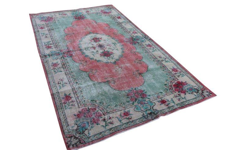 Vintage vloerkleed, divers 275cm x 170cm   Rozenkelim.nl - Groot assortiment kelim tapijten