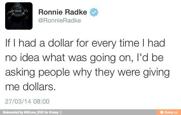 Ronnie Radke is one of my favorite humans