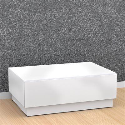Nexera 221703 BLVD Coffee Table with Hidden Storage