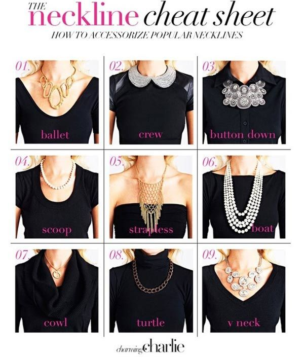 Neckline Cheat Sheet | The Live Well Network