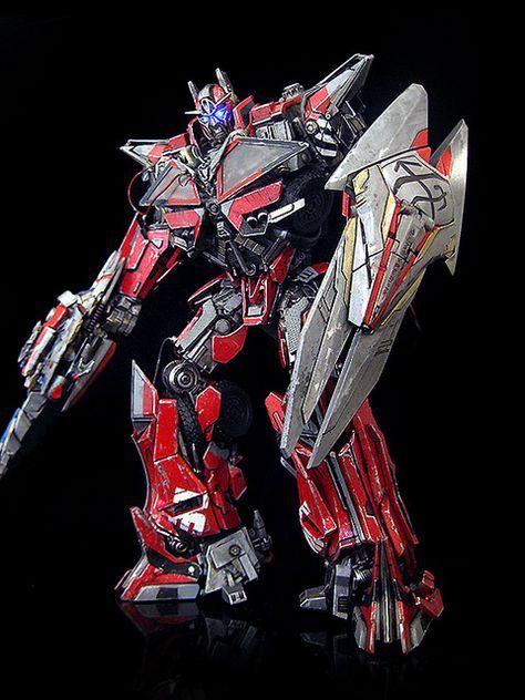 Sentinel Prime (v3) by frenzy_rumble (custom)