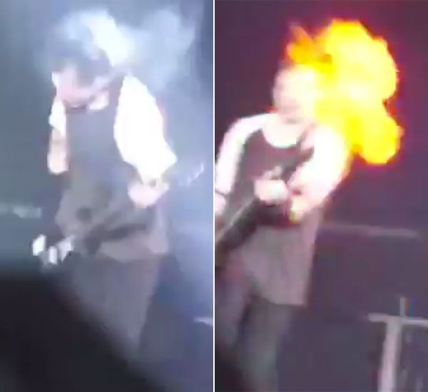 '5 Seconds Of Summer's Michael Clifford Burned During Concert — Scary Video