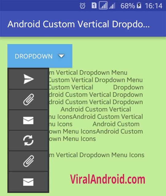 how to change spinner dropdown text color in android