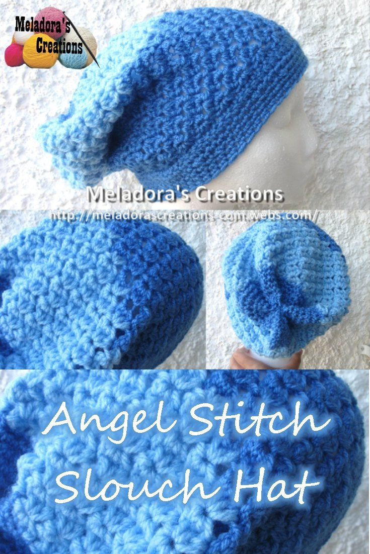53 best loom knitting images on pinterest loom patterns felting video your place to learn how to crochet the angel stitch slouch hat for free by meladoras creations free crochet patterns and video tutorials bankloansurffo Image collections