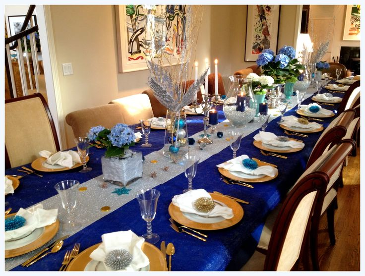 Blue Party Decorating Ideas 16 best blue and silver holiday decorating images on pinterest