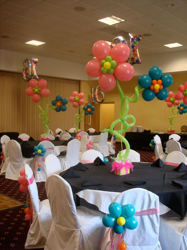 sweet 16 party ideas | ... Party Decor - Above the Rest Balloon and Event Designs - Party Decor