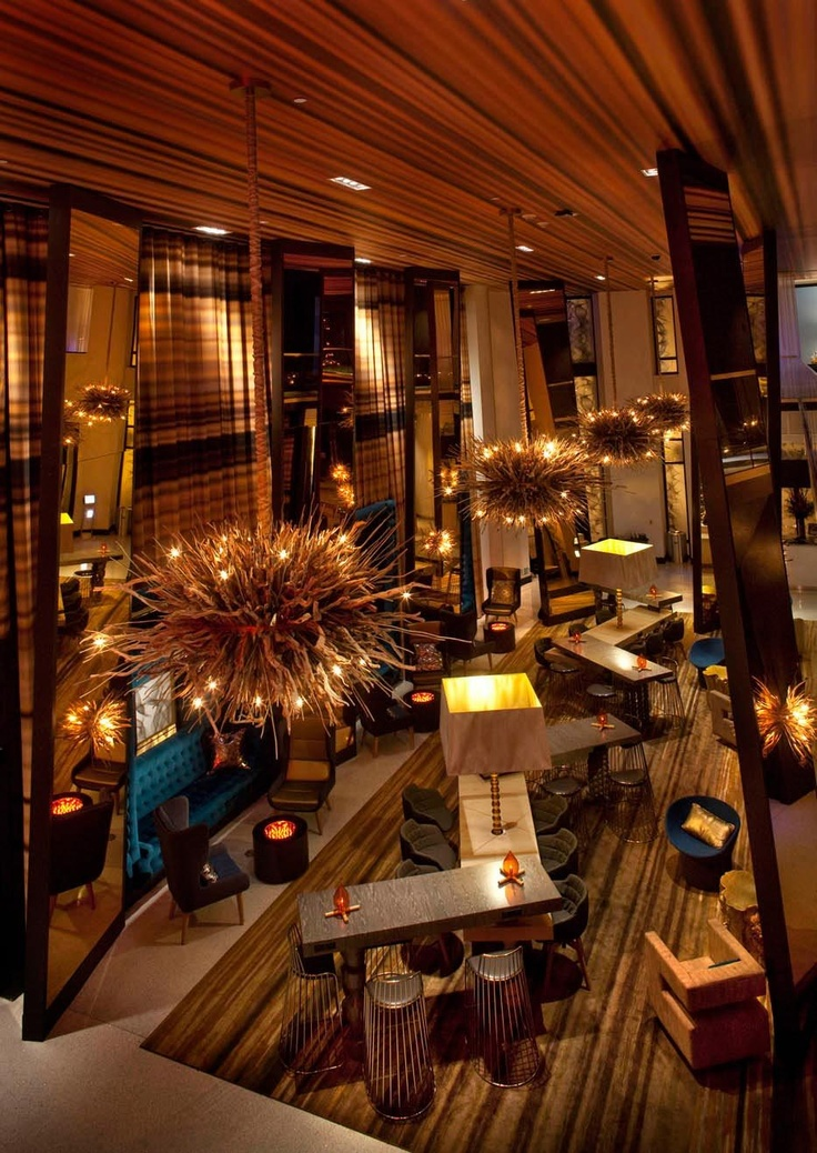 MISTER IMPORTANT DESIGN - W Hotel San Diego, Lobby