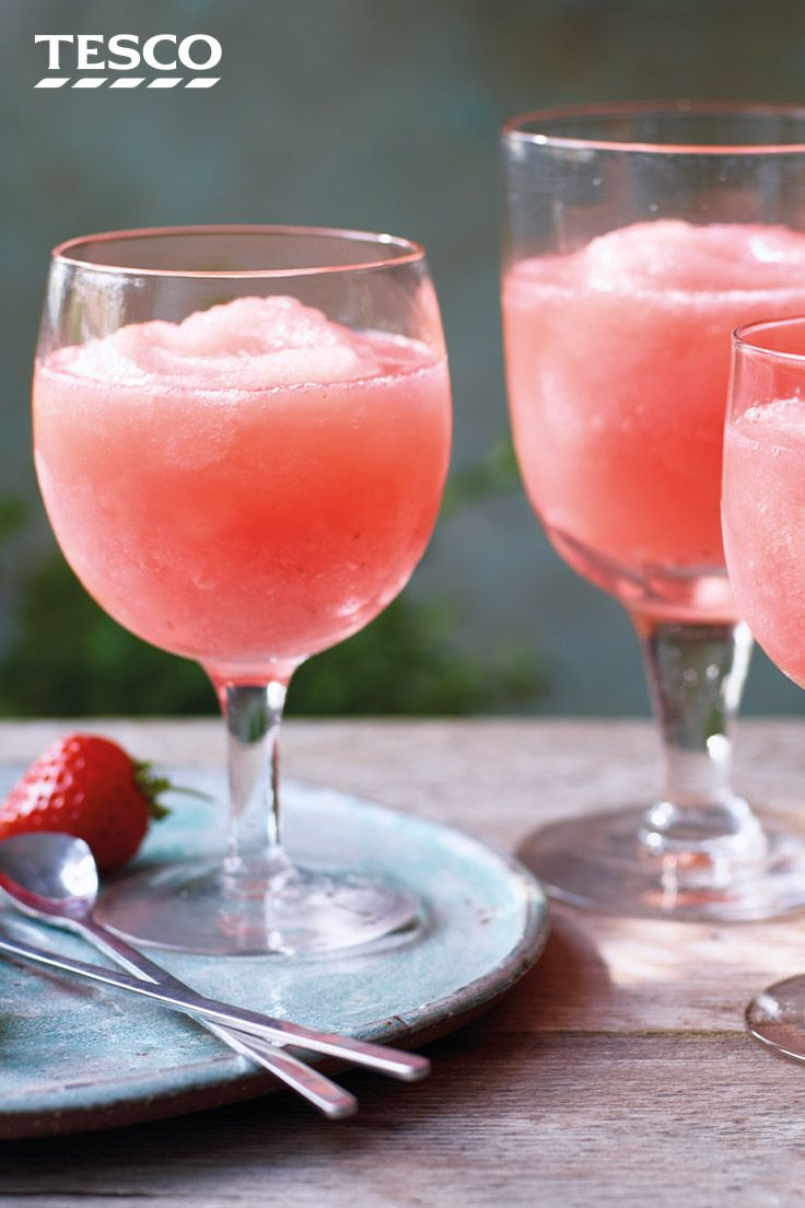 Strawberry Frose Recipe Summer Cocktails Tesco Real Food Recipe Tesco Real Food Recipes Food