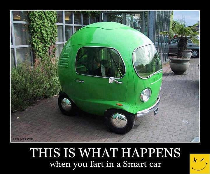 What happens when you fart in a smart car! | Thoughts, Jokes, and ideas... | Pinterest | Smart ...