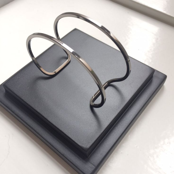 A Y M Dark Ruthenium Bracelet