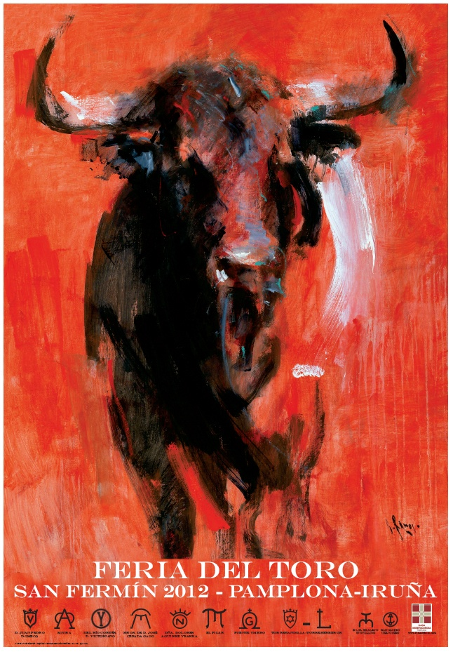 Spanish bullfighting poster