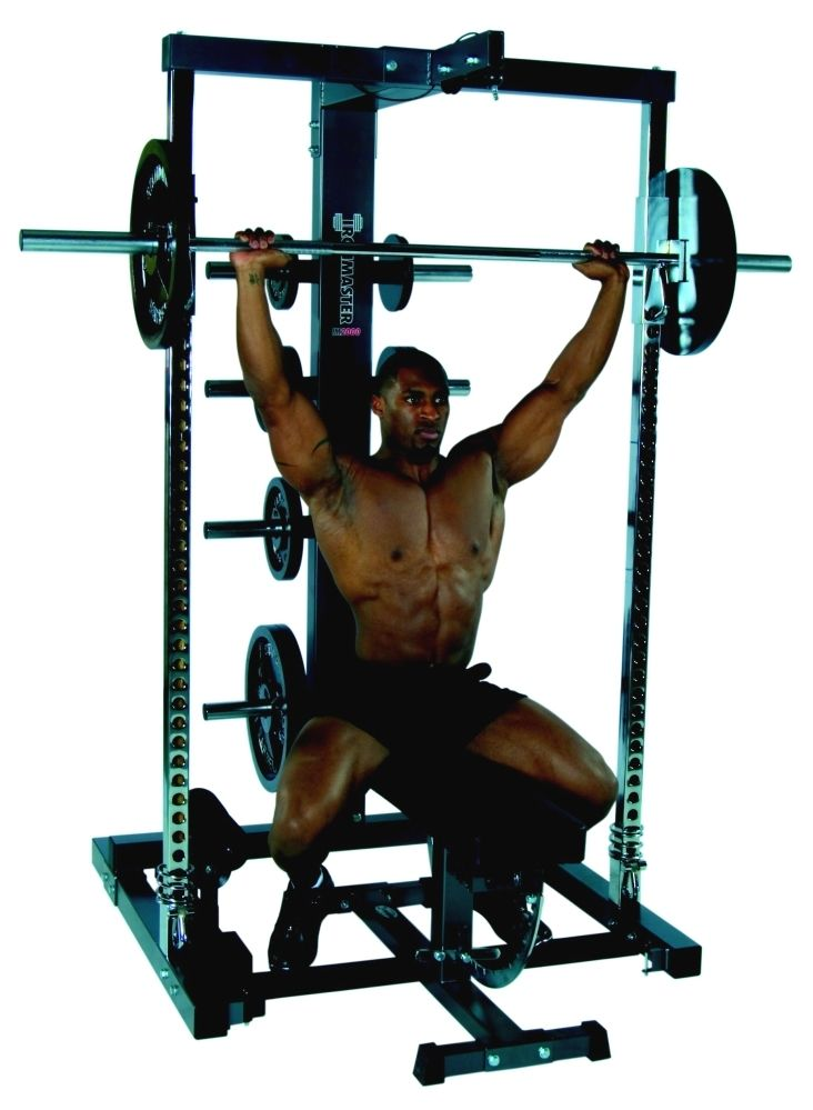 barbell military shoulder press - 732×999
