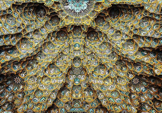 Moroccan Islamic Ceiling patterns
