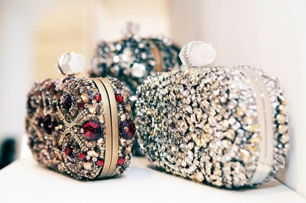 Marchesa Embellished Clutch Bags