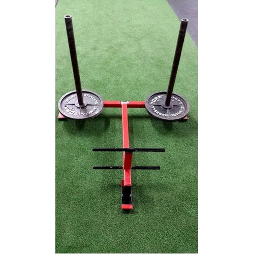 Adrenaline Push Sled.  Great conditioning tool. Plate loaded removable posts. #prowler #sleds #adrenalineequipment #crossfit