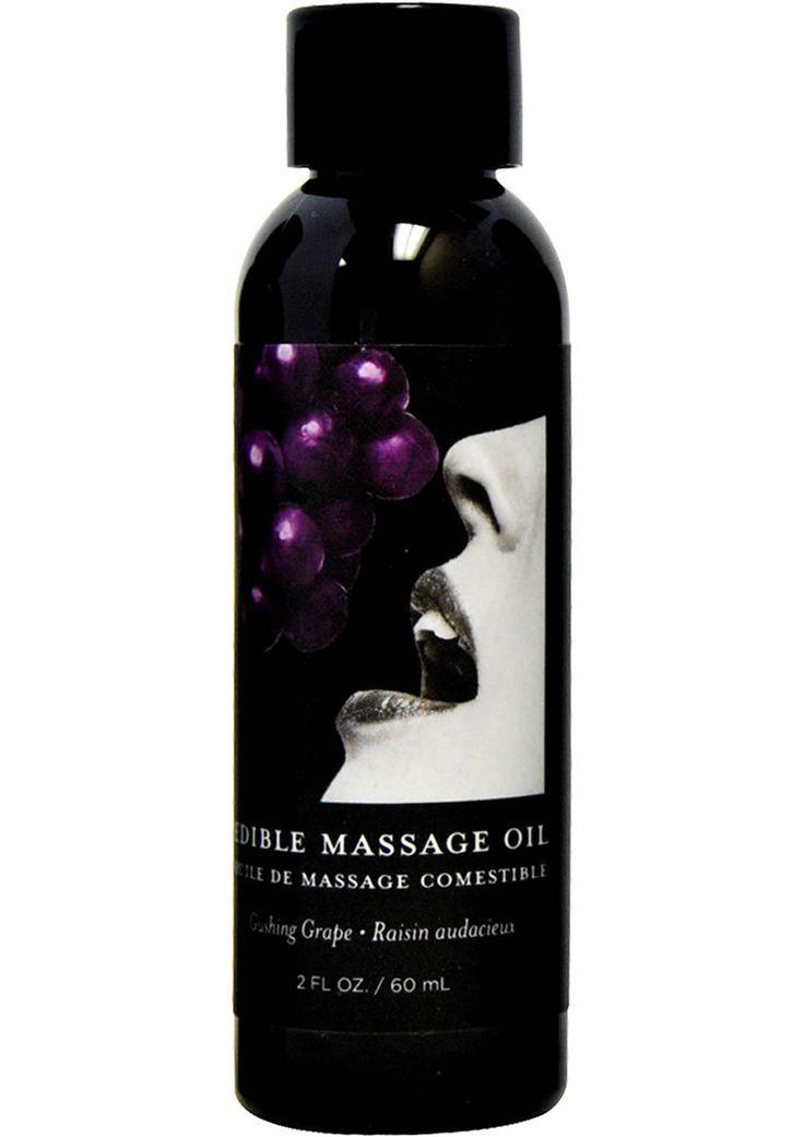 Buy Edible Massage Oil Grape 2 Ounce online cheap. SALE! $5.99