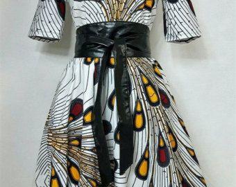 25% de DESCUENTO maxi impresión africana vestido con por JENNYROSSY