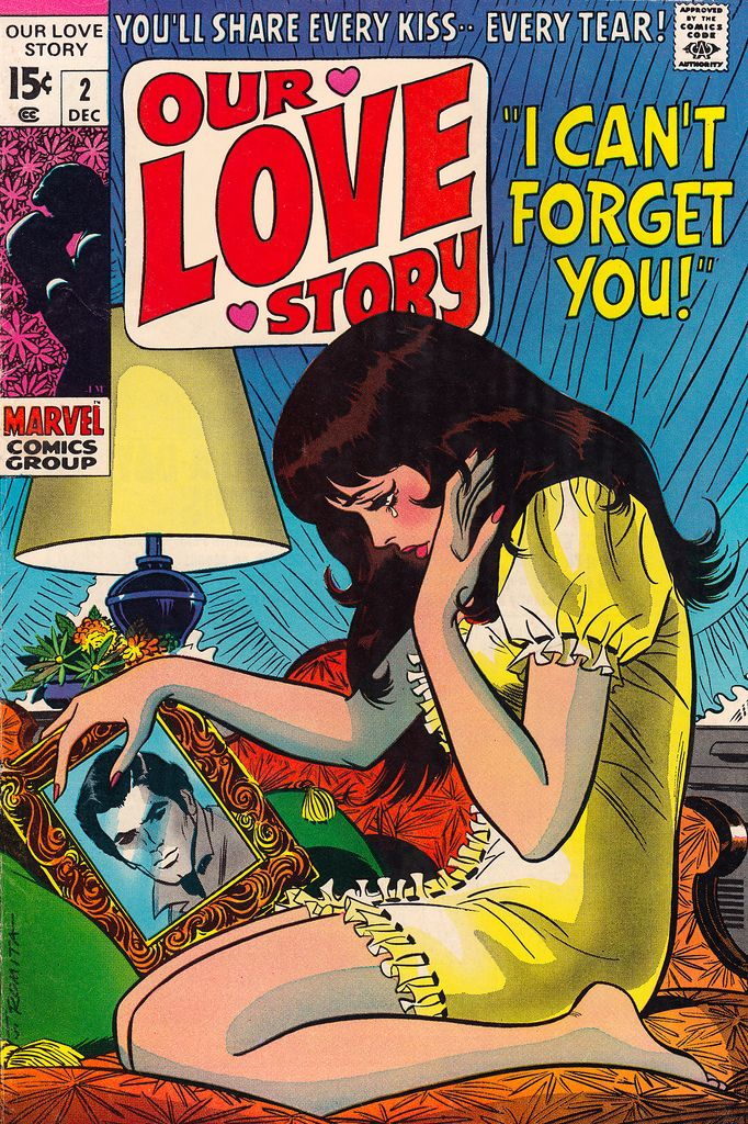 """Marvel Comics - Our Love Story: """"I Can't Forget You!"""""""