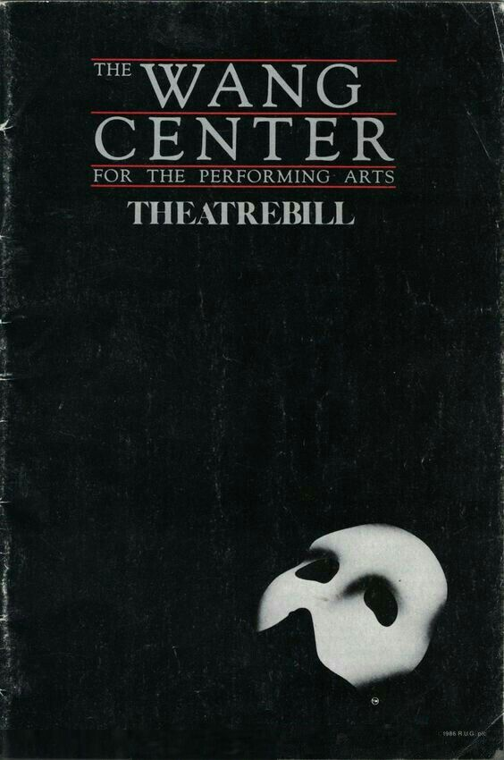 """Boston, MA premiere of """"The Phantom of the Opera"""" at the Wang Theatre at the Boch Center (270 Tremont Street) ... Second National Tour ... August 4 - November 14, 1992 ... Production Design by Maria Björnson ... Lyrics by Charles Hart ... Music by Andrew Lloyd Webber ... Directed by Harold Prince ... Kevin Gray starred in the production."""