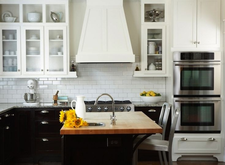 Could Get This Look With IKEA Butcher Block Island, Transitional, Kitchen,  TerraCotta Properties