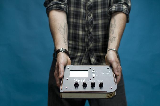 Harmonic MIDI Generator module - FYRD Instruments