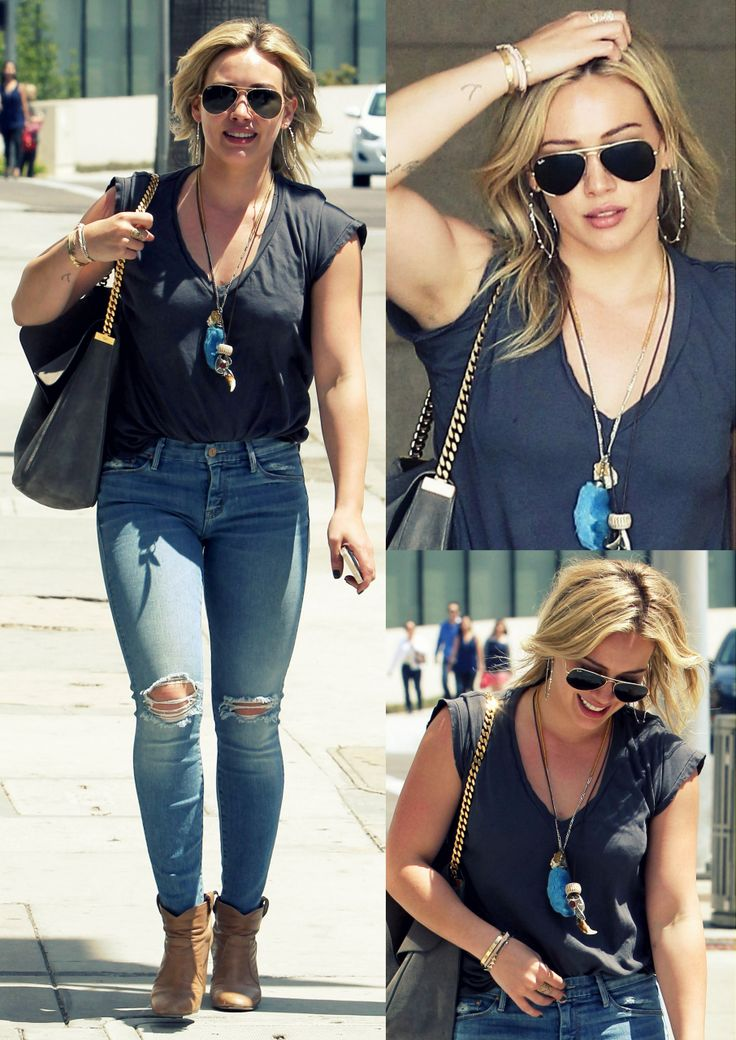 Hilary Duff in Beverly Hills (April 21st, 2014)